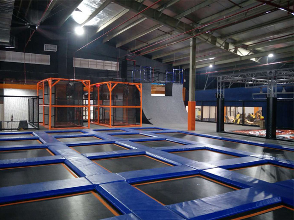 Indoor trampoline park project in Vietnam
