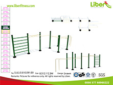 Liben fitness equipment for outdoor park use