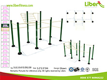 Liben outdoor workout equipment for park use