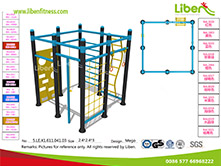 Outdoor park gym equipment manufacturer China