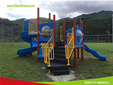 outdoor playground equipment project in Puerto Rico