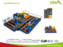 China Professional Indoor Fitness Trampoline Park Builder