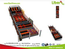 Poland Indoor Trampolin park project build by Liben