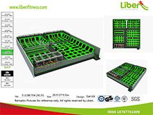 Liben Free Customized design Trampoline Park for sale