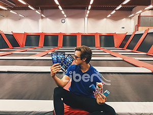 Liben 2nd Trampoline Park Project finished in Finland