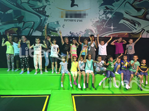 Liben New Trampoline Park Project finished in Israel