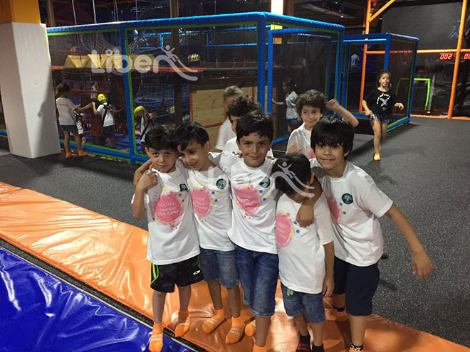 Liben Indoor Gym Trampoline Park Project in Jordan