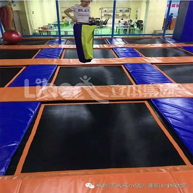 Indoor Fitness Trampoline Park project