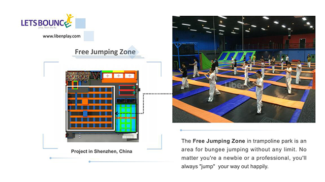 China best trampoline park factory
