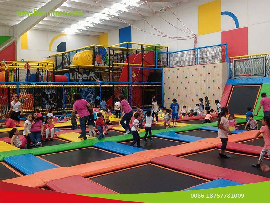 Top China indoor trampoline park builder for Shopping mall