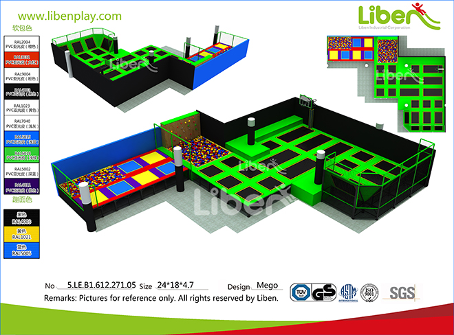 Liben new indoor trampoline park in Israel